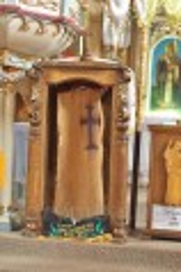 Чинадієво. Хрест всередині букової колоди, виявлений у 2002 році