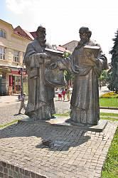 Пам'ятник Кирилу і Мефодію у Мукачевому