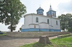 Спасо-Преображенська церква у Дубно. Загальний вигляд