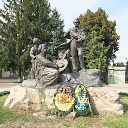 Пам'ятник Т.Г.Шевченку у Дубно