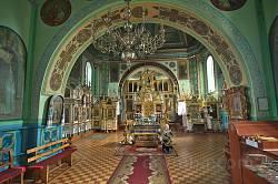 Дубно. Іллінська церква. Інтер'єр