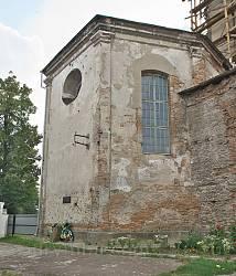 Бернардинський костел у Дубно. Вівтарна частина