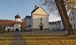 Церква св.Миколая та набрамна вежа Крехівського монастиря