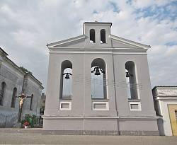 Дзвіниця парафіяльного костелу в Дубно