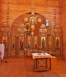 Крехівський монастир. Інтер'єр церкви Покрови