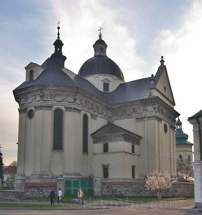 531a14020 Фарный костел св.Лаврентия (г.Жолква, Львовская обл.): карта, фото ...