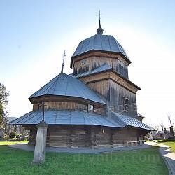Жовква. Деревяна церква Різдва Пресвятої Богородиці