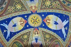 Церква св.Серця Христового у Жовкві. Купол каплиці