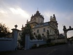 Собор Святого Юра - памятник позднего украинского барокко