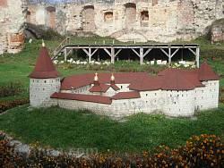 Макет реставрації замку у м.Бережани