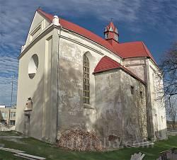 Бережани. Оборонний готичний костел Різдва Богородиці