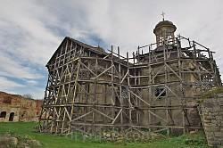 Бережани. Реставрація костелу св.Трійці