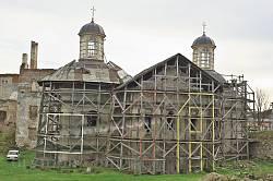 Бережанський замок. Костел-каплиця св.Трійці
