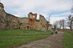 Бережанский замок