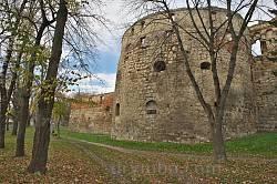 Бережанський замок. Вежа-бастея