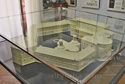 Бережанський краєзнавчий музей. Макет замку Сенявських