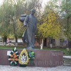 Пам'ятник Тарасу Шевченку у Бережанах