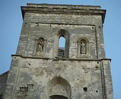 Костел Успіння Богородиці у Біще. Верхівка вежі