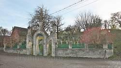 Цвинтар полеглих на Лисоні січовиків. Село Посухів біля Бережан