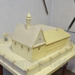 Макет Бернардинського монастиря у Бережанах