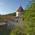 Сооружения монастыря Сурб-Хач. Вид сверху