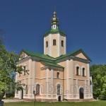 Троїцька церква Мотронинського монастиря. Бічний фасад