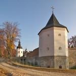 Північна вежа Крехівського монастиря