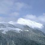 Гора Піп Іван Мармароський з траверсу Берлебашки
