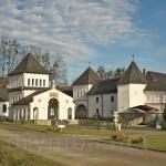Унівський монастир. Каплиця та північна оборонна башта