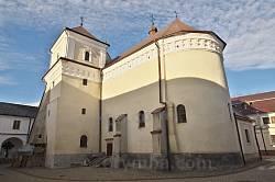 Унів. Монастирська церква Успіння Пресвятої Богородиці