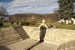 Унівський монастир. Басейн для джерельної води