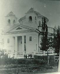Церква Різдва Богородиці у селі Вергуни. Архівне фото