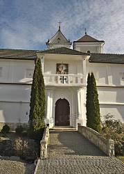 Унівський монастир. Західна брама