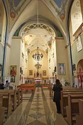 Костел св.Петра і Павла в Перемишлянах. Інтер'єр