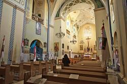 Петропавлівський костел у Перемишлянах. Відновлене оздоблення