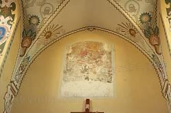 Костел св.Петра і Павла в Перемишлянах. Стара фреска