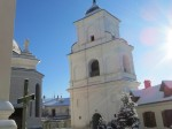 Дзвіниця василіянського монастиря у Жовкві