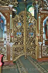 Потелич. Церква Пресвятої Трійці. Царські ворота