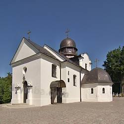 Духовно-паломнический центр в селе Страдч (Львовская обл.)