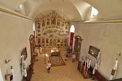 Інтер'єр церкви Успіння Богородиці у Страдчі