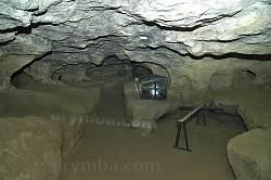Страдч. Інтер'єр печерної церкви
