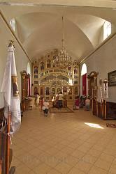 Страдч. Інтер'єр церкви