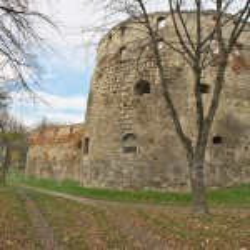 Кругла вежа Бережанського замку