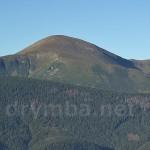 Гора Говерла. Вид з полонини Закукул