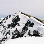 Вершина Попа Мармароського. Вид з півночі