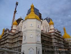 Почаевская Лавра. Строительство нового храма