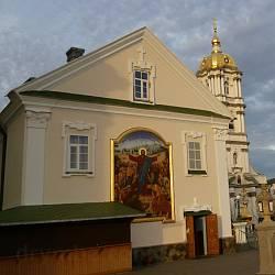 Почаївська Лавра. Похвальна церква