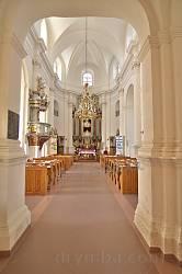 Костел Пресвятої Трійці у Микулинцях. Інтер'єр