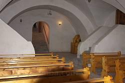 Микулинці. Костел св.Трійці. Підземна церква