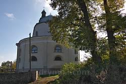 Костел у Микулинцях. Вівтарна частина